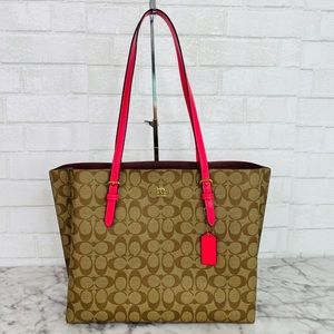 Coach Signature Mollie Tote